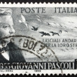 Postage stamp Italy 1955 Giovanni Pascoli, Poet and Scholar — Stock Photo #11825830