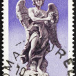 Postage stamp Italy 1975 Angel holding Crown of of Thorns — Stock Photo #11825838