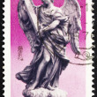 Postage stamp Italy 1975 Angel with Cross — Stock Photo #11825845