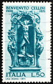 Postage stamp Italy 1971 Mercury by Benvenuto Cellini — Stock Photo