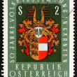 Postage stamp Austria 1970 Arms of Carinthia, Austria — Stock Photo