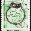 Stock Photo: Postage stamp Czechoslovaki1963 9th Century Ring, Moravia