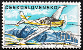 Postage stamp Czechoslovakia 1967 Sports Plane L-40, Airplane — Stock Photo