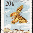 Postage stamp Czechoslovakia 1961 Southern Festoon, Butterfly — Stock Photo
