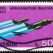 Постер, плакат: Postage stamp Italy 1967 G 91Y Fighters Fiat