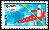 Postage stamp Italy 1971 Kayak in free Descent — Stock Photo