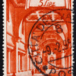 Postage stamp Vatic1949 BasilicSt. Prassede, Rome — Stock Photo #11941590