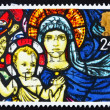 Postage stamp GB 1992 Madonna and Child, Christmas — Stock Photo #11986695