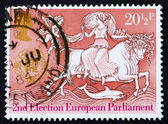 Postage stamp GB 1984 Abduction of Europa — Stock Photo