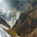 Yellowstone waterfall — Stock Photo #11214215