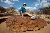 Meteorite — Stock Photo