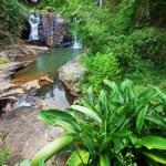 Waterfall on Sri Lanka — Stock Photo #11480940