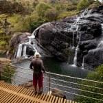 Waterfall on Sri Lanka — Stock Photo #11481108