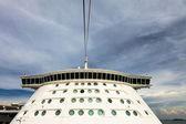 Ponte di nave da crociera — Foto Stock