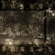 Cinefilm on grunge background — Stok Fotoğraf #11917489