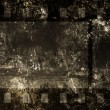 Foto Stock: Cinefilm on grunge background