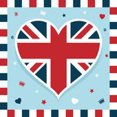 Uk decoration — Stock Vector