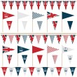 Uk party flags — Stock Vector #10830912