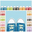 Shoe collection — Stock Vector #11058379