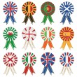 European rosettes — Stock Vector #11102271