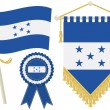 Постер, плакат: Honduras flags