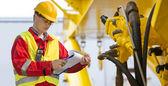 Hydraulic engineer — Stock Photo