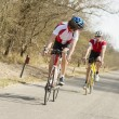 Stock Photo: Athletes Riding Cycles