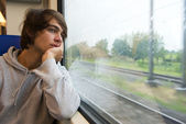 Travelling by train — Stock Photo