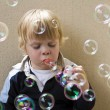 Blowing bubbles — Stock Photo #11861395