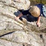 Climbing boy — Stock Photo #11861435