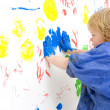 Stock Photo: Finger painting