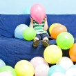 Balloon boy — Stock Photo