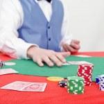 Poker game in progress — Stock Photo #11864294