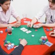 Foto de Stock  : Poker game