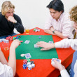 Private poker game — Stock Photo