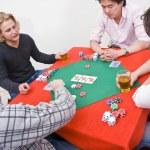 gra w pokera — Zdjęcie stockowe