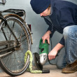 Bicycle theft — Stock Photo #11866027