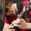 Stock Photo: Guitar Solo