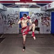 Foto Stock: Muay Thai