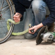 Bike theft — Stock Photo #11866143