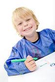 Cheerful kid — Stock Photo