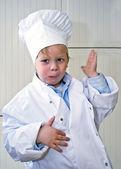 Boy chef — Stock Photo
