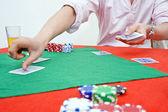 Rozdávání karet — Stock fotografie