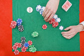 Stacking chips — Stock Photo