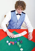 Preparing for Poker — Stock Photo