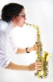 Saksofon — Zdjęcie stockowe