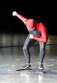 Speed skating start — Stock Photo