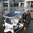 Solar powered tuc tuc — Stock Photo #11890357