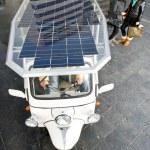 Solar powered tuc tuc — Stock Photo #11890376
