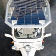 Stock Photo: solar powered tuc tuc